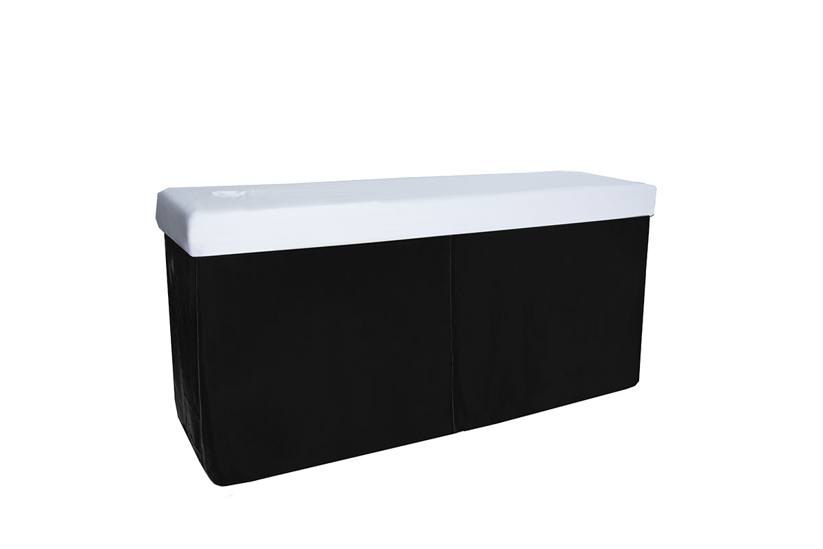 Bed Valance Black