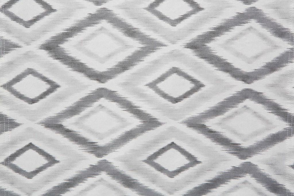 Bed Runner Grey / White